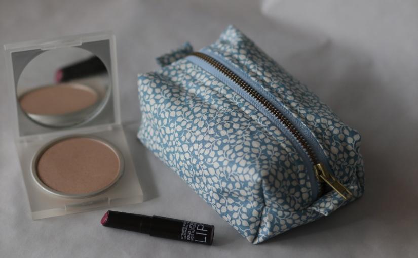 Kosmetiktasche – selbstgemacht!